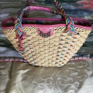 Genuine Brighton Summer Straw Bag